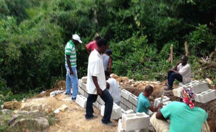 grave digging in Jamaica