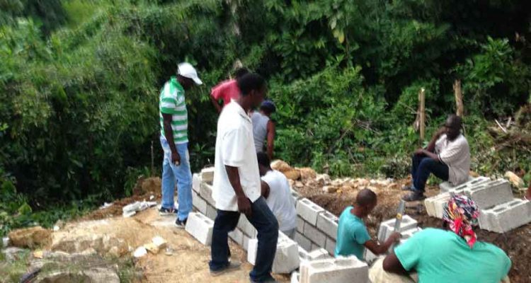 grave digging in Jamaica