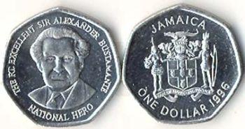 1 Jamaican Dollar