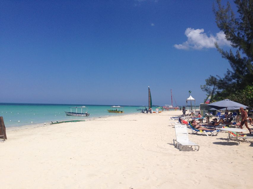 7 mile beach negril jamaica